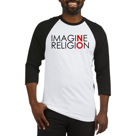 imagine no religion copy Baseball Jersey