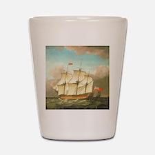 HMS Victory by Monamy Swaine Shot Glass