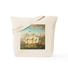 HMS Victory by Monamy Swaine Tote Bag