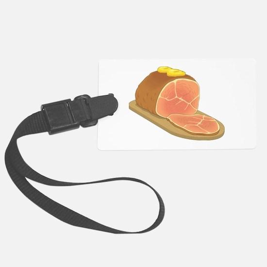 Sliced Ham Luggage Tag