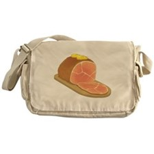 Sliced Ham Messenger Bag