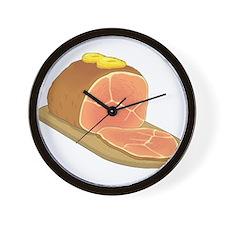 Sliced Ham Wall Clock