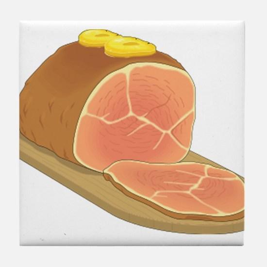 Sliced Ham Tile Coaster