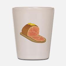 Sliced Ham Shot Glass