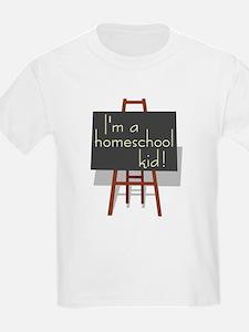 Homeschool Kid Kids T-Shirt