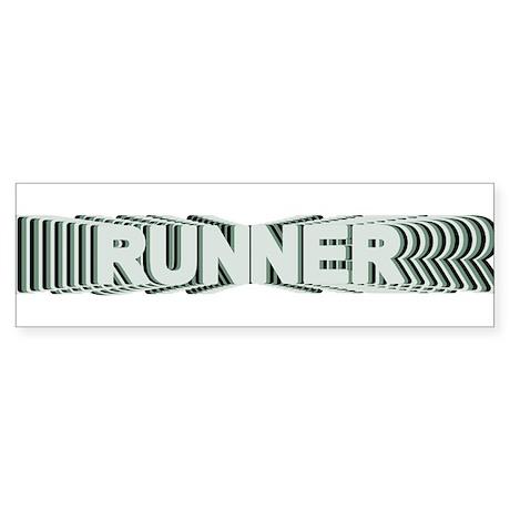 Runner Bumper Sticker