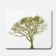 Green Tree Mousepad