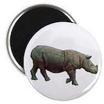 sumatran rhino Magnet