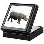 sumatran rhino Keepsake Box