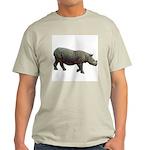 sumatran rhino Ash Grey T-Shirt
