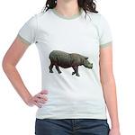 sumatran rhino Jr. Ringer T-Shirt