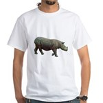 sumatran rhino White T-Shirt
