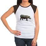 sumatran rhino Women's Cap Sleeve T-Shirt