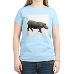 sumatran rhino Women's Pink T-Shirt
