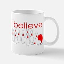 I believe in bowling Mug