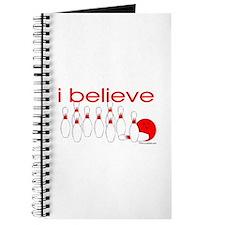 I believe in bowling Journal