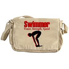 AWESOME SWIMMER Messenger Bag