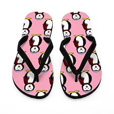 'Penguins' Flip Flops