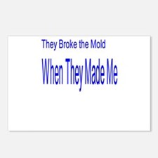 They Broke the Mold When They Postcards (Package o
