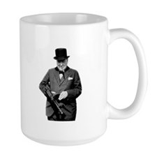 Churchill's Tommy Gun Mug