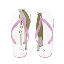 Wedding Stiletto Shoes Art Flip Flops