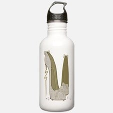 Wedding Stiletto Shoes Art Water Bottle