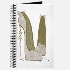 Wedding Stiletto Shoes Art Journal