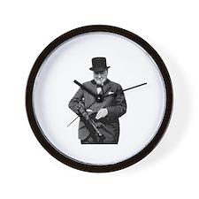 Churchill's Tommy Gun Wall Clock