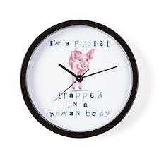 I'm a Piglet Wall Clock