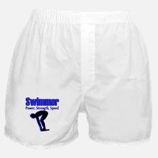 NUMBER 1 SWIMMER Boxer Shorts