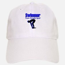 NUMBER 1 SWIMMER Baseball Baseball Cap