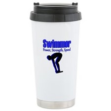 NUMBER 1 SWIMMER Travel Coffee Mug