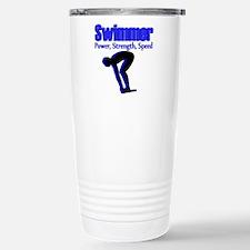 NUMBER 1 SWIMMER Travel Mug