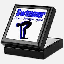 NUMBER 1 SWIMMER Keepsake Box