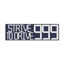 Strive to Drive 99.9 Car Magnet 10 x 3