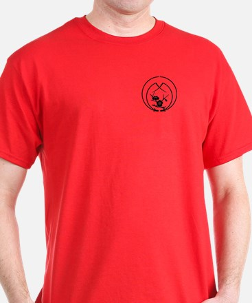 Ume branch in Embracing pine needles T-Shirt
