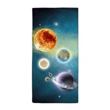New Solar System Beach Towel
