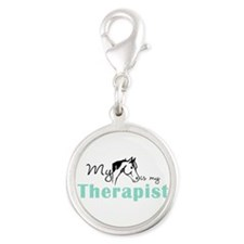 My Horse Is My Therapist Charms