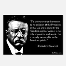 Teddy Roosevelt on Dissent Postcards