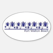 Fort Walton Beach, Florida Oval Decal