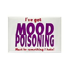 Mood Poisoning Something I Hate Rectangle Magnet