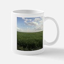 Alfalfa Field Bright Almost Clear Day Mugs