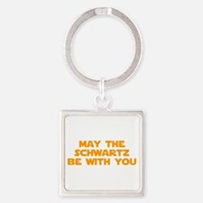 MAY-THE-SCHWARTZ-star-orange Keychains