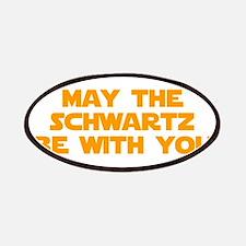 MAY-THE-SCHWARTZ-star-orange Patches