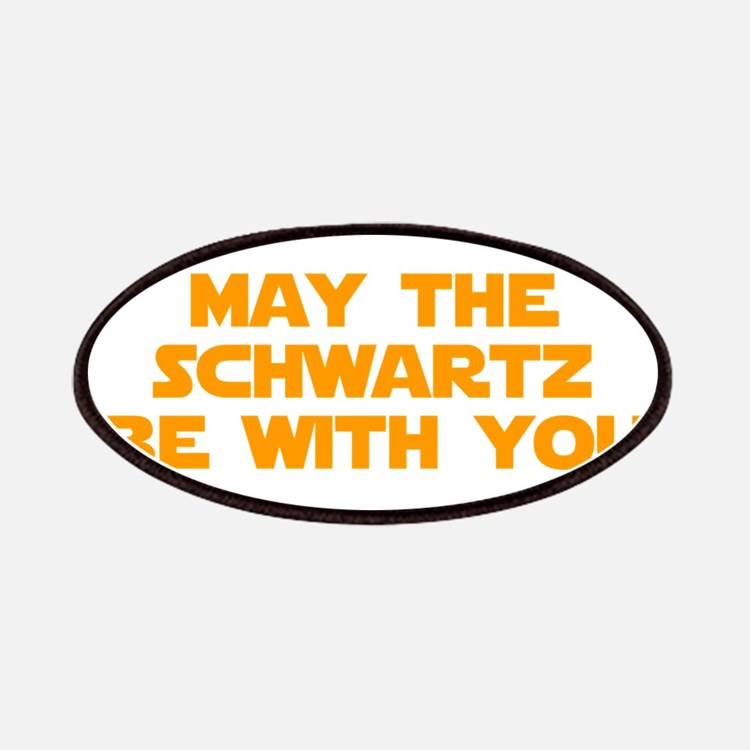 MAY-THE-SCHWARTZ-star-orange Patches