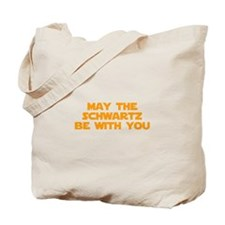 MAY-THE-SCHWARTZ-star-orange Tote Bag