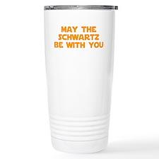 MAY-THE-SCHWARTZ-star-orange Travel Mug