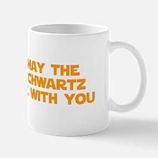 MAY-THE-SCHWARTZ-star-orange Mugs