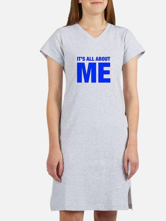 ITS-ME-HEL-BLUE Women's Nightshirt