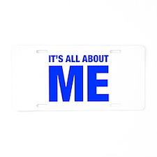 ITS-ME-HEL-BLUE Aluminum License Plate